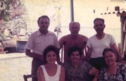 Con George Poulos, family and friends, O..