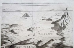 Map of Kapsali & Hora ca. 1696