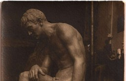 The Thinker, 1914,  by  Emmanuel  Andrew..