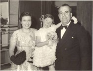 Anna and Theo Coroneo with young Dana Wilson, co-star of The Shiralee.