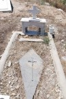 GRAVE. NO INSCRIPTION.-----CEMETERY PANAGIA DESPINA