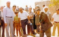 A FORMER PRIME MINISTER OF AUSTRALIA VISITS KYTHERA....