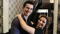 The two young stars of Strictly Ballroom The Musical.