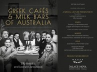 Adelaide book launch of Greek Cafes & Milk Bars of Australia, 15 November 2016