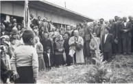 Dedication of hospital in Potamos 1954