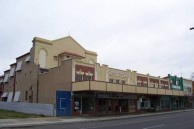 Saraton Theatre, Grafton, NSW. Looking North along Prince Street.