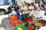 fruit and veges stand.