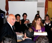 Stratis Theodorakakis' 80th birthday celebration