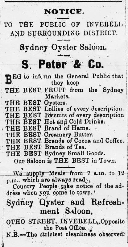S.Peter & Co - Sydney Oyster Saloon