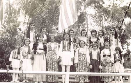 Greek Monarchists, 1954 Royal Visit Lismore