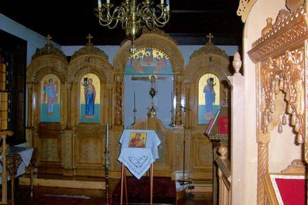 Altar. Chapel. First Floor. Monastery at Geelong. - Alter Church Monastery Geelong
