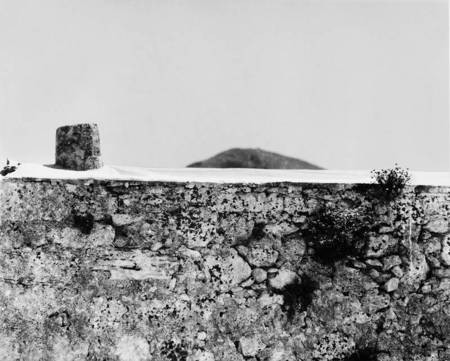 Wall with Paliokastro in the background