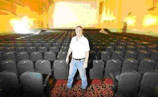 Saraton Theatre opens today - Lights, camera, action Saraton Theatre manager Robbie Seymour is all ready for the reopening of the historic theatre in Grafton