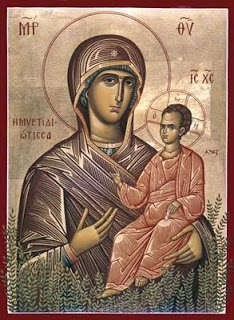 The miraculous icon of Panagia Myrtidiotissa - Panagia_Myrtidiotissa 2