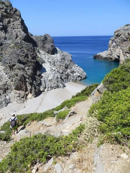 Is Kythira the perfect Greek island? - Guardian Kalami Beach