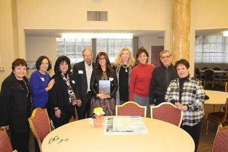 Members of the Kytherian Society of California with Dr. Lita Tzortzopoulou and Dr. Timothy Gregory