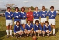 Albury City Soccer Club NSW 1974