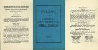 Cytherian Brotherhood of the Western United States By-Laws 1950