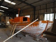 building boats in Agia Patrikia