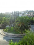 The view from Damian N Andronicus' back balcony