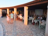 Guests gathered at the Mill Resort at Mitata in July 2013