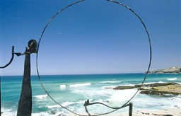 Orest Keywan* wins the $30,000 Sculpture by the Sea prize for 2006. - Keywan Orest Rocky Moon
