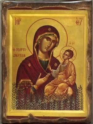 The miraculous icon of Panagia Myrtidiotissa - Panagia_Myrtidiotissa_3