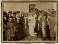 The wedding of Stamatoula Mavromatis and Angelo Panagiotis Chlentzos 1931