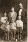 Alexander Spiro Phacheas (Fatseas) and Family 1927