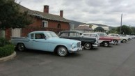 Some of the beautiful antique cars that made the journey to Bingara