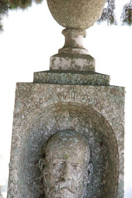 Grave of Theodoros Papapetrou Sakelariou, Potamos (1 of 3)