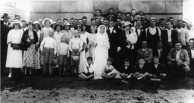 Wedding at Biloela on 4 November, 1937