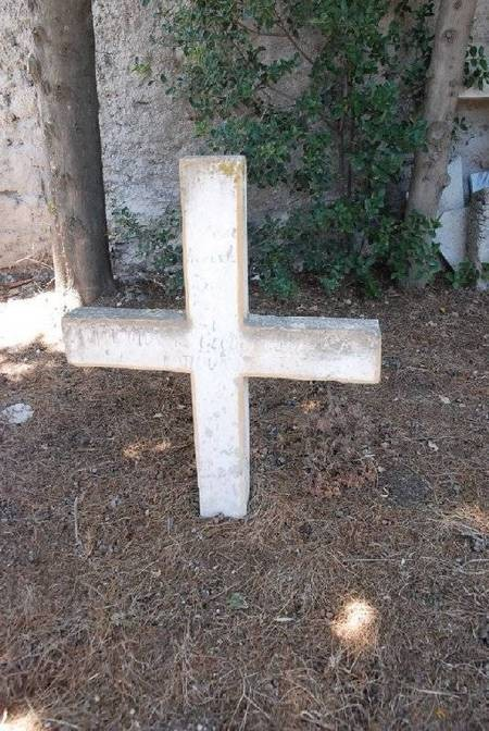 UNIDENTIFIED CROSS-----CEMETERY-PANAGIA DESPINA