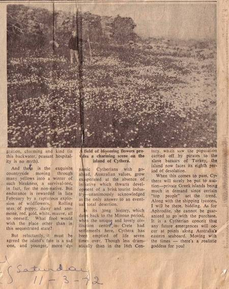 Newcastle Morning Herald Story - 1972 - Page2