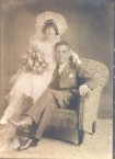 Paul Theodore Panaretos  and bride Alexandra