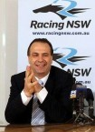 Peter V'landys. Chief Executive and Board Member with Racing NSW