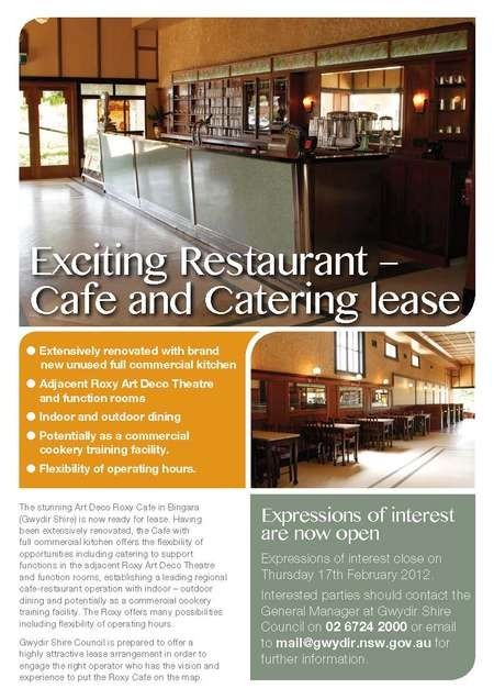 Exciting Restaurant – Cafe and Catering lease - RoxyCafe_FP (2)