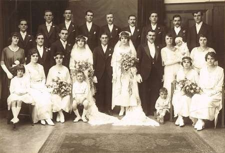 Wedding of Peter Crithary to Irene Cretan, and Nick Psaltis to Louisa Crithary