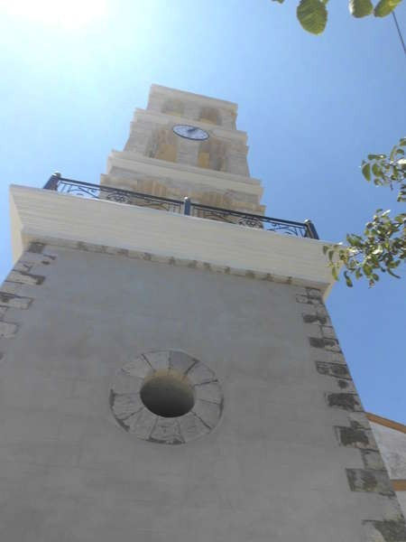 The bell tower in Logothetianika - DSCI0062