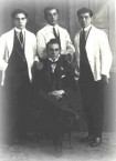 Tenterfield, NSW - 1922 - Kytherian Cafe owner with his staff