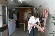 '' the village butcher''
