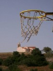 We can't afford 7 euro's to replace a frayed basketball net....