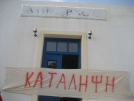 Workers picket Kythera Local Council