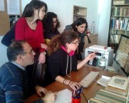 High School Students with Professors Study project. Kythera Library Kondelianika