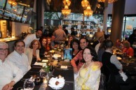 USA East/West Coast Kytherians dine at Theo's Restaurant & Oyster Bar in NY (2)