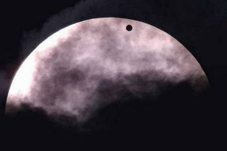 Venus - the PLANET - from Sydney, Australia. - Venus Transit - The transit of Venus. Photo  Nick Moir