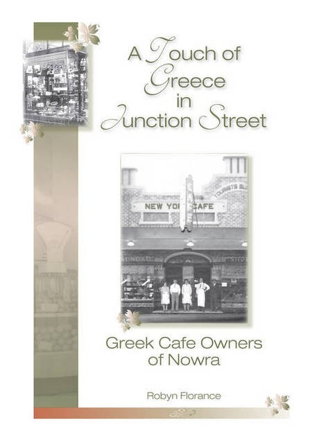 A Touch of Greece in Junction Street. Greek Cafe Owners of Nowra. - Touch of Greece Cover