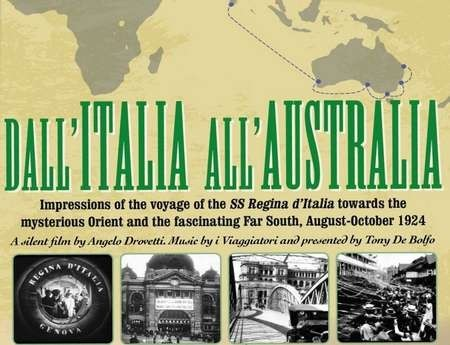 DVD of the film Dall' Italia All' Australia - Dall' Italia All' Australia 2