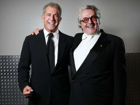 The original Mad max ... Mel Gibson with George Miller at the 2015 AACTA Awards held at The Star in Pyrmont, Sydney. Picture Richard Dobson Source News Corp Australia