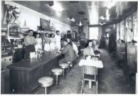inside the Plymouth Grille, Detroit, Mich.